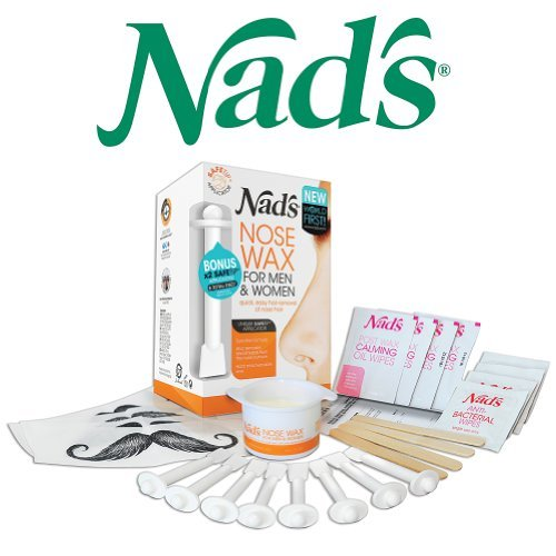 nads nose wax instructions