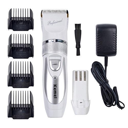inkint professional electric hair clipper rechargeable hair trimmer for men baby hair cutting. Black Bedroom Furniture Sets. Home Design Ideas