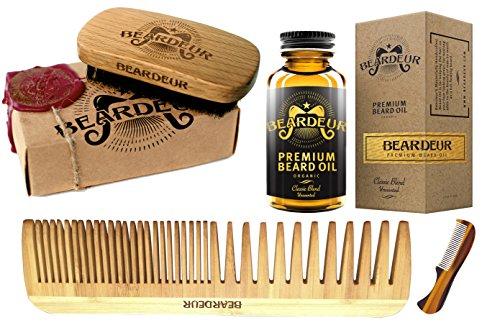 beard kit boar bristle brush beard comb small mustache comb leave in conditioner oil for. Black Bedroom Furniture Sets. Home Design Ideas