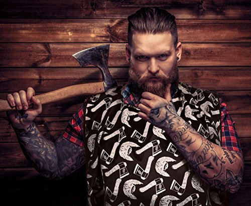movember special lumberwear beard moustache apron bib hair catcher grooming shaving. Black Bedroom Furniture Sets. Home Design Ideas