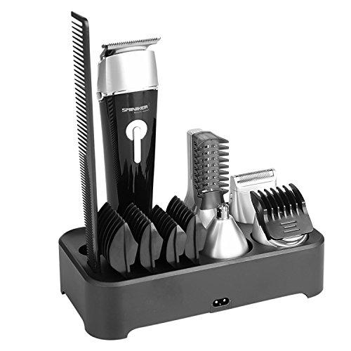 sminiker 5 in 1 waterproof man 39 s grooming kit hair. Black Bedroom Furniture Sets. Home Design Ideas