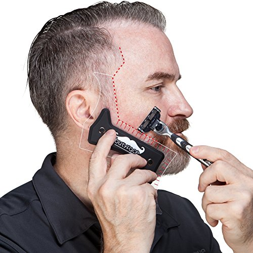 butyface beard styling tool shaping template for using. Black Bedroom Furniture Sets. Home Design Ideas