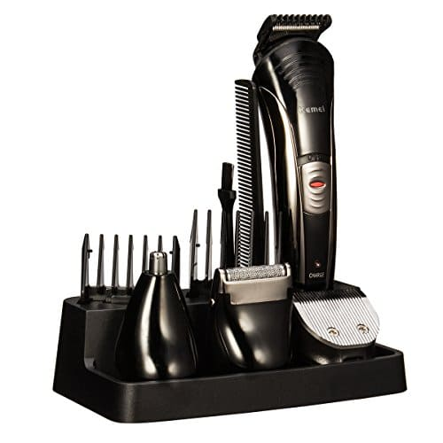 grooming kit bienna 7 in 1 professional rechargeable. Black Bedroom Furniture Sets. Home Design Ideas
