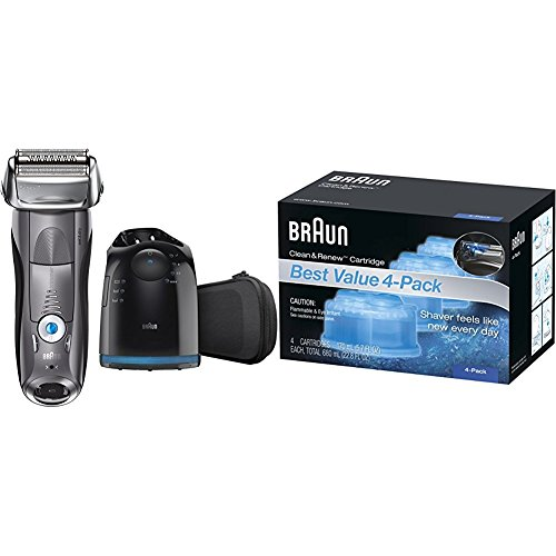 Braun Series 7 7865cc Wet Amp Dry Electric Shaver For Men