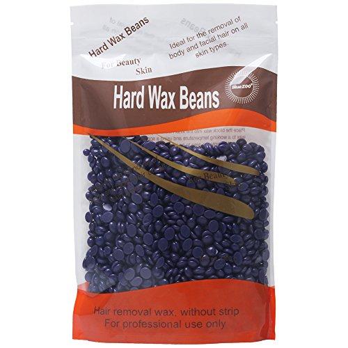 bluezoo body hair removal hard wax beans for men women stripless depilatory wax 10 ounces bag. Black Bedroom Furniture Sets. Home Design Ideas