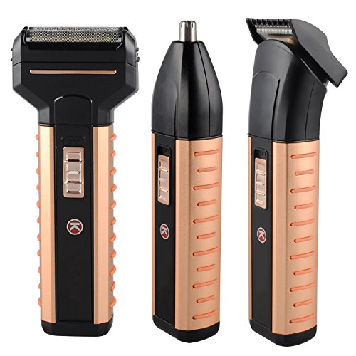 bienna 5 in 1 electric shavers waterproof head hair trimmer nose ear beard clipper and. Black Bedroom Furniture Sets. Home Design Ideas