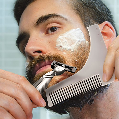 how to cut the perfect beard line