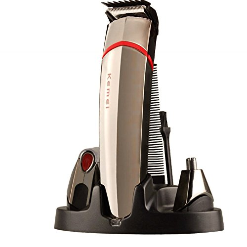 grooming kit bienna 4 in 1 professional rechargeable cordless electric washable head hair. Black Bedroom Furniture Sets. Home Design Ideas