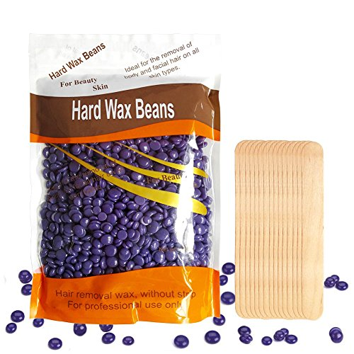 hard wax beans body hair removal wax solid depilatory wax for women men 10 5 ounces bag. Black Bedroom Furniture Sets. Home Design Ideas