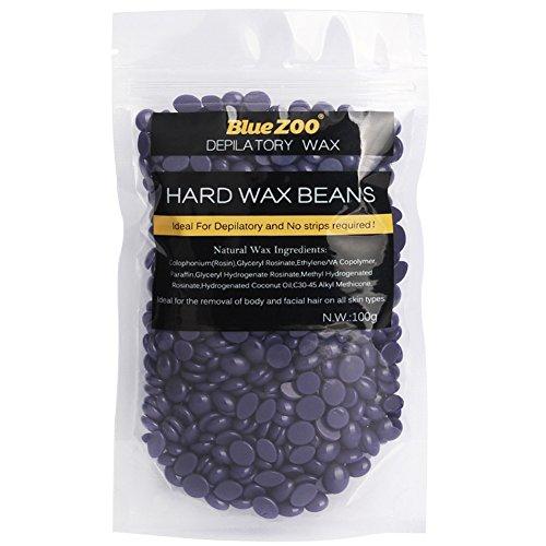 uhbgt hard wax beans granules hot film wax bead hair removal wax 100g lavender shaving clean. Black Bedroom Furniture Sets. Home Design Ideas