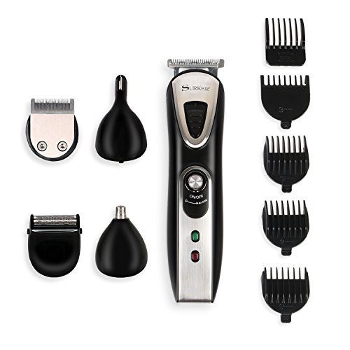 suprent beard trimmer men 39 s grooming kit muti function body groomer for men professional. Black Bedroom Furniture Sets. Home Design Ideas
