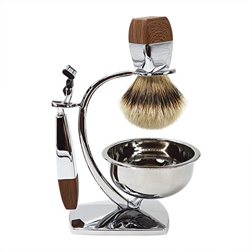 Gracefulvara Classic Manual Men S Razor With Brush And