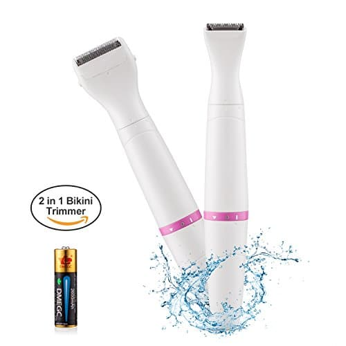 2 in 1 bikini trimmer battery included women shaver waterproof electric lady shaver lady. Black Bedroom Furniture Sets. Home Design Ideas