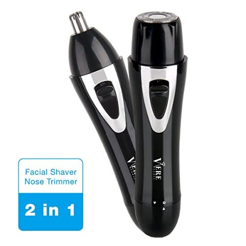 hair remover for women 2 in 1 facial removal and nose trimmer shaving clean online beauty. Black Bedroom Furniture Sets. Home Design Ideas