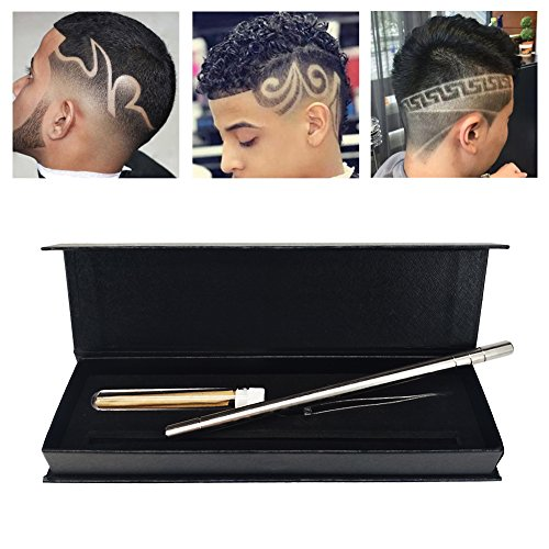 Hair styling tools hairstyle design pen razor for for Razor pen for hair tattoo