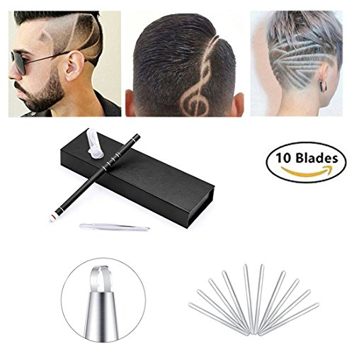 Hair tattoo trim styling face eyebrow shaping device hair for Razor pen for hair tattoo